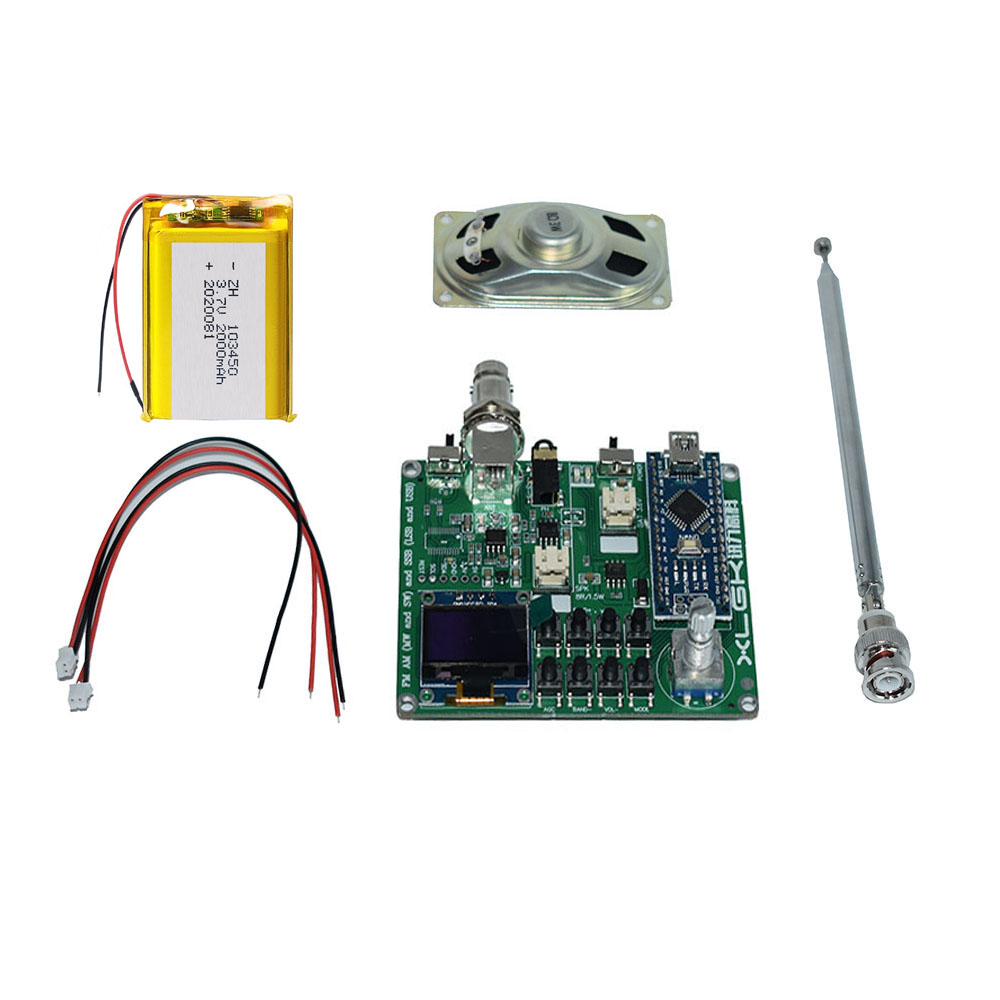 SI4732 Alle Band Radio FM AM (MW und SW) SSB (LSB und USB) mit Lautsprecher Antenne batterie