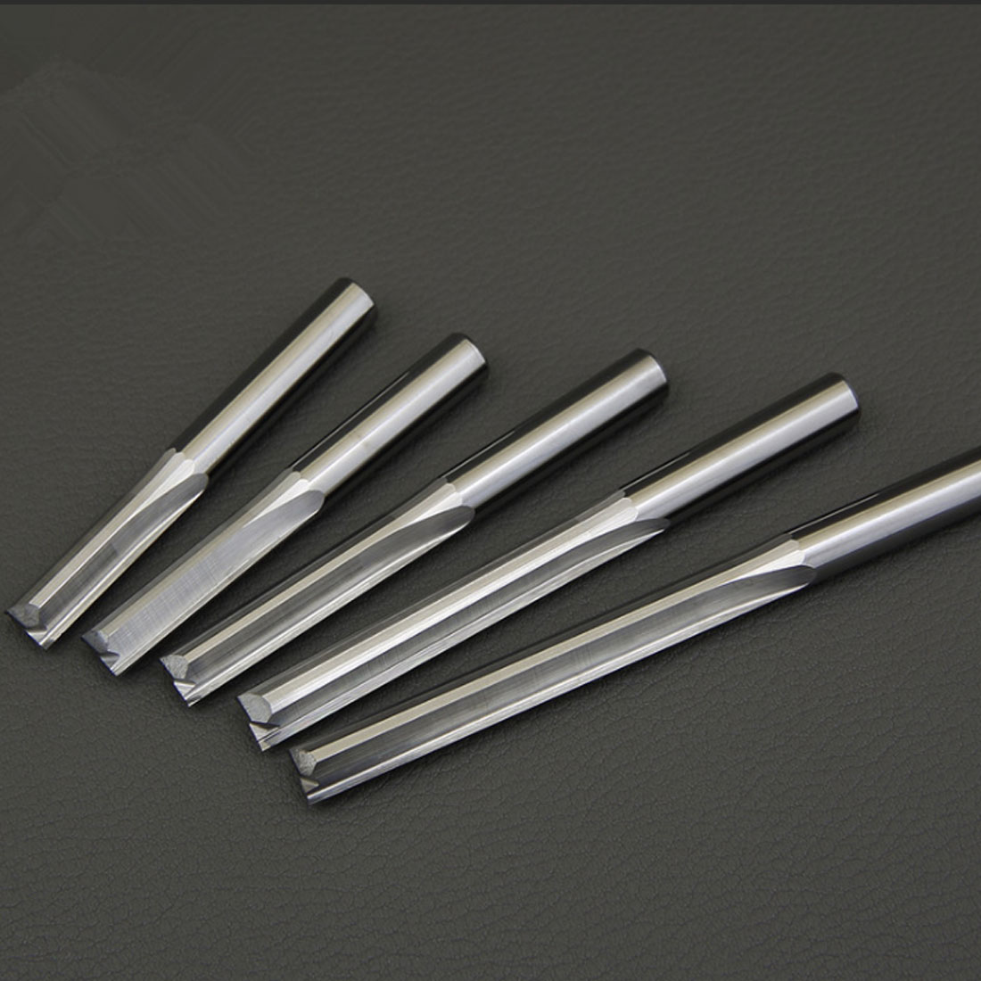 6mm/4mm Milling Cutter Shank Two Flutes Straight Router Bits For Wood CNC Straight Engraving Cutters End Mill Tools