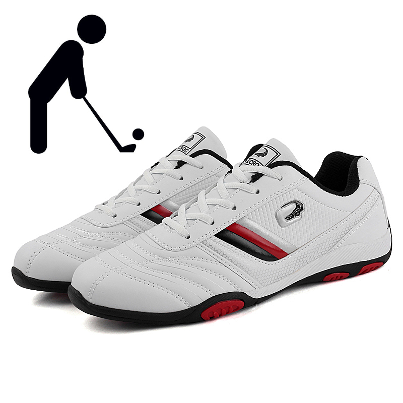 Men Golf Shoes Outdoor Golf Training Shoes Men Fashion Sports Casual Shoes Black White Lace-up Spring and Summer Sneakers Men