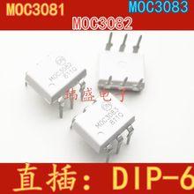 10 шт., MOC3081, MOC3083, MOC3082 M DIP-6