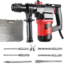 Drill-Screwdriver Concrete-Breaker Electric-Hammer Rotary Cordless Portable-Tool 220V