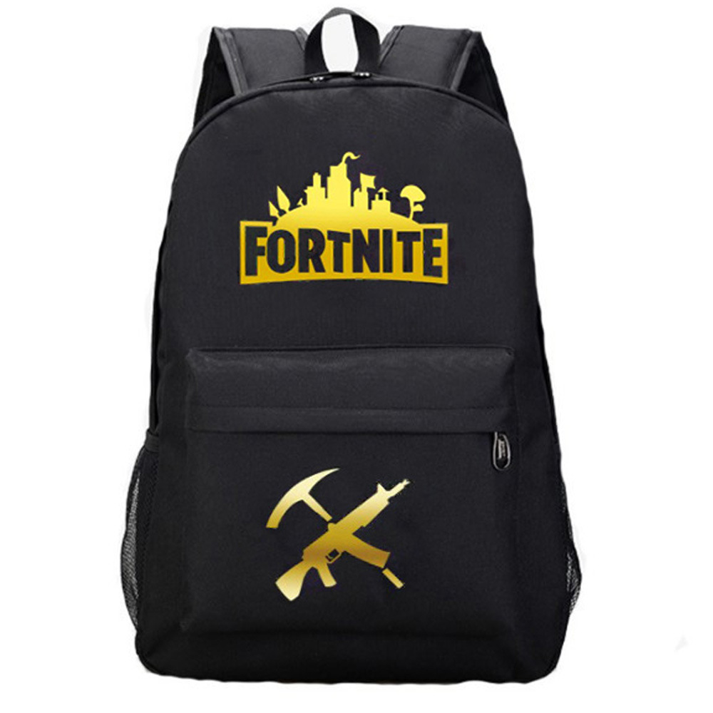 Backpack Breathable Travel Casual Mobilefortress Night Fortnite Large Capacity Backpack Luminous Computer Backpack Men's And Wom