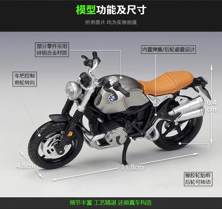 BMW R Nine T Model Motorcycle 2