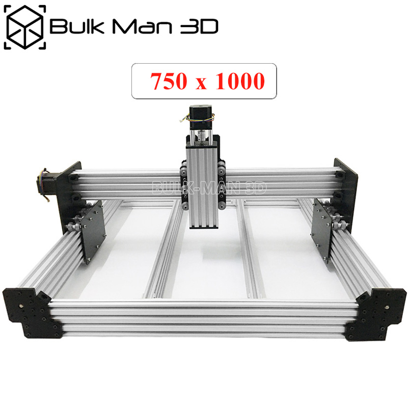 Workbee CNC Router Kit 750x1000mm 4Aixs Wood Metal Engraver Milling Machine Kit with 175 oz*in Nema23 Stepper Motors-in 3D Printer Parts & Accessories from Computer & Office    1