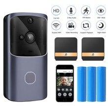Onvian WIFI Doorbell Camera Smart Video Intercom Door Bell Waterproof Wireless H