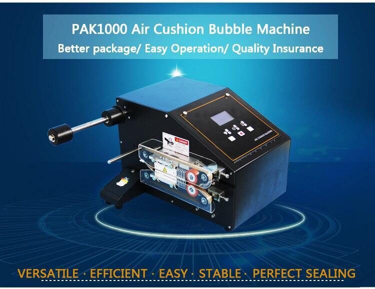 Máquina de almofada de ar