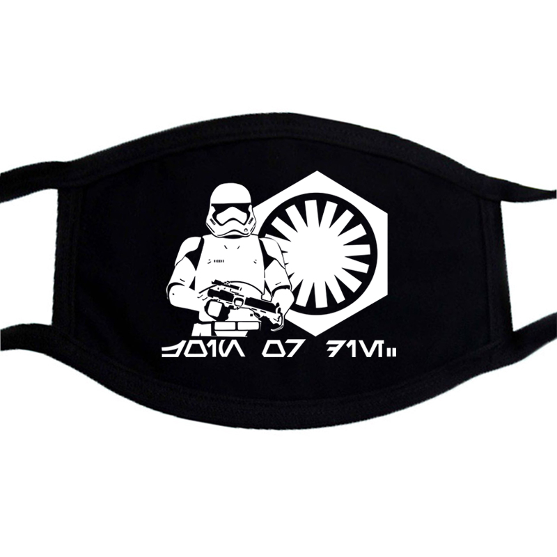 Pattern Join The Empire Printing Mask Dustproof Washable Respirator Mask Breathing Filter  Cycling Breathing Filter