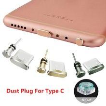 Plugue de fone de ouvido usb tipo c, plugue de metal 3.5 de plugue para huawei p40 lite redmi note 7, acessórios tampa usb para celular