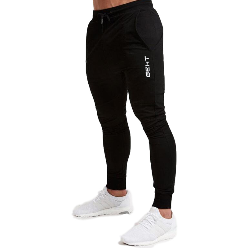 2019 Casual Skinny Pants Mens Joggers Sweatpants  Fitness Workout Brand Track pants New Autumn Male Fashion  Trousers 1