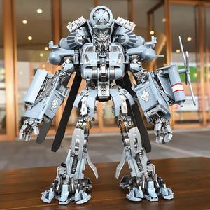 Image 3 - Фигурка робот, 30 см SS08, фигурка из сплава для скрытых теней, трансформация, WJ M05