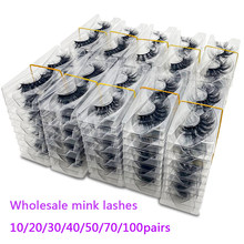 Bulk Items Wholesale Lots Cruelty Free Makeup 5D Wispy Fluffy 3D Mink Hair Natural Strip Lashes Fake False Eyelashes Vendors