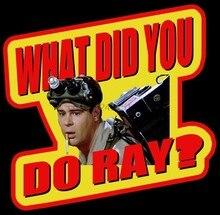 80 ghostbusters clássicos o que você fez ray t personalizado qualquer tamanho qualquer cor