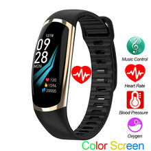 Smart Bracelet  Android IOS Heart Rate Band Sleep Monitor Blood Pressure Fitness Tracker Waterproof Color Screen Sport Band цена и фото