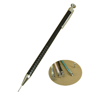 ACMECN gorąca sprzedaż 0 5mm ołówek automatyczny na szkolne artykuły piśmienne Korea style Press Pen biurowe i szkolne kryształowe artykuły papiernicze tanie i dobre opinie Mechaniczne ołówki Pastille Metal 1679P 0 5mm pencil Luźne China (Mainland) Aluminium Velvet Pouch 0 5mm click action