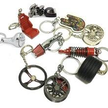 Популярный отличный подарок для JDM гоночных фанатов, водителей, Wakaba Mark, автомобильный брелок, автозапчасти, модель, брелок для ключей, брелок для ключей, автомобильный брелок для мужчин