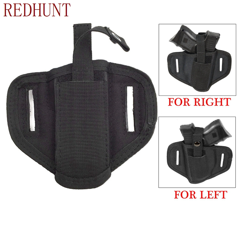 New arrivals Right/Left Concealed Handgun Belt Holster Ideal for small middle size Hand handguns Pistol Waist Pouch Magazine Bag image