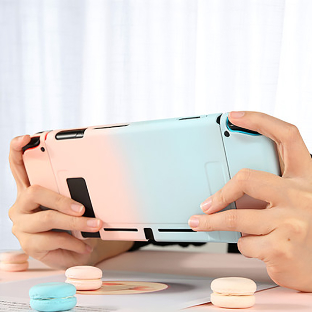Protective Case Joy Con Controller Shell Hard Housing Full Cover Shell For Nintend Switch Game Console Colorful Shell