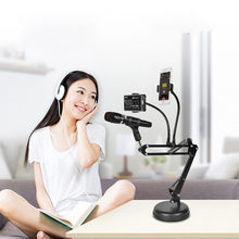 KH-30 Cantilever Desktop Bracket Support Microphone Two-Phone Live Freely Adjust Jy25(China)