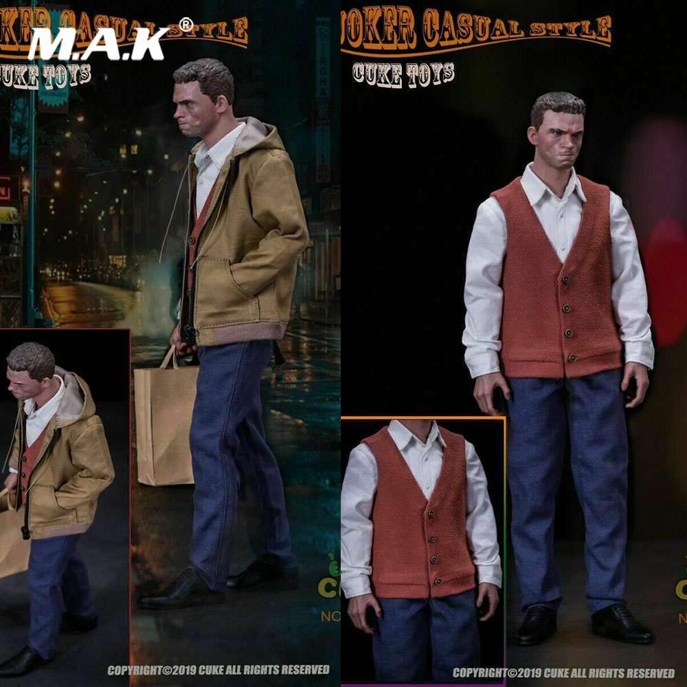CUKE TOYS MA-004 1/6 Scale Figure Clothes Accessory The Joker Joaquin Casual Wear Clothing Costume Suit Model For 12'' Action