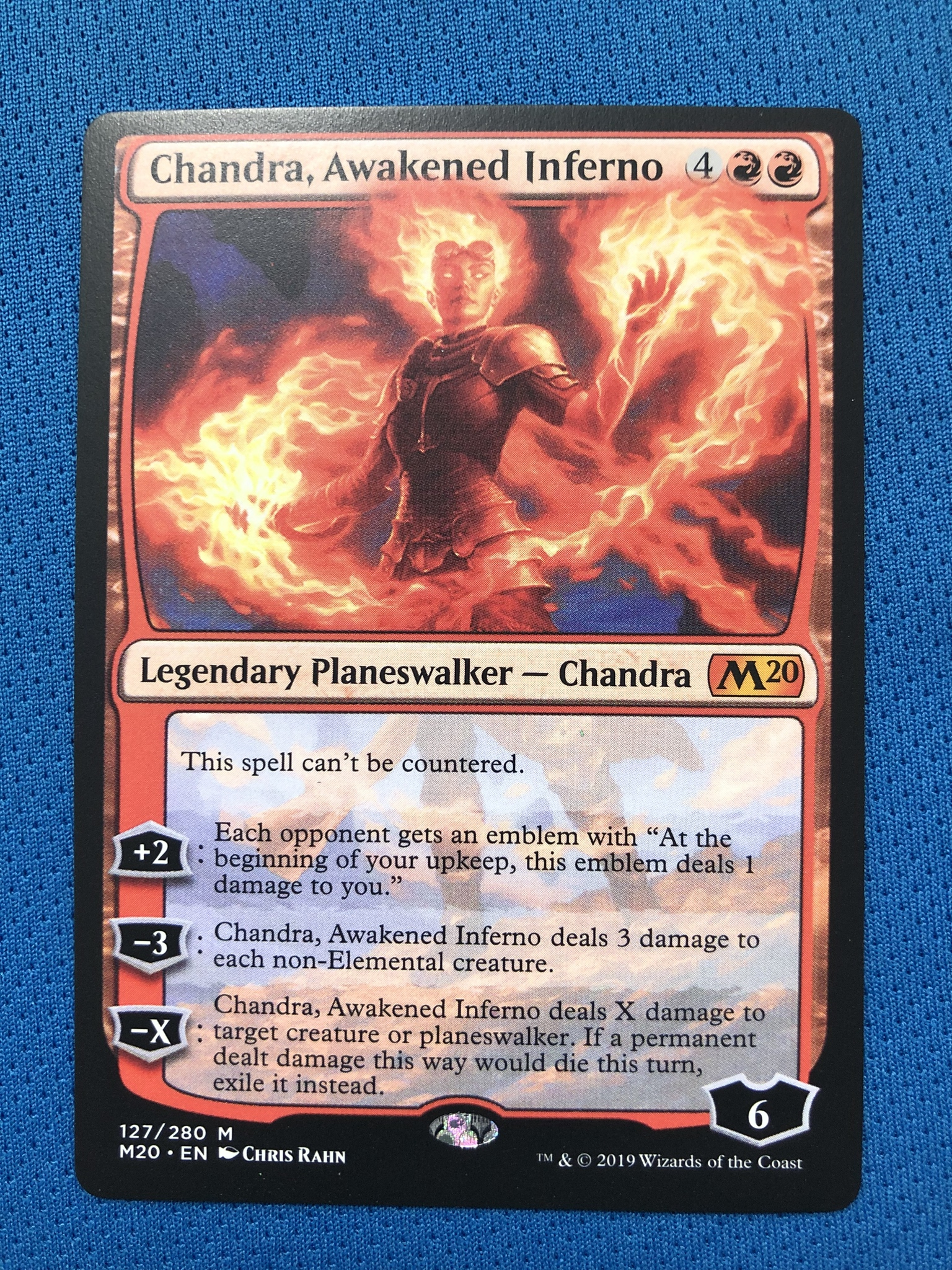 Chandra, Awakened Inferno	M20 Hologram Magician ProxyKing 8.0 VIP The Proxy Cards To Gathering Every Single Mg Card.