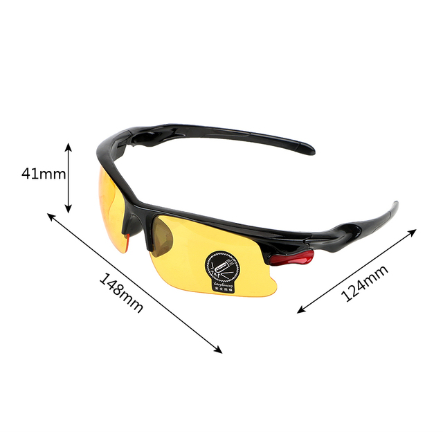 Night-Vision Glasses  Protective Gears Sunglasses Night Vision Drivers Goggles Driving Glasses Interior Accessories Anti Glare 5