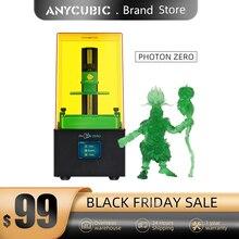 طابعة Anycubic ثلاثية الأبعاد فوتون سلسلة طابعة ثلاثية الأبعاد فوتون صفر SLA/LCD طابعة شريحة سريعة 405 UV الراتنج ثلاثية الأبعاد Drucker Impressora