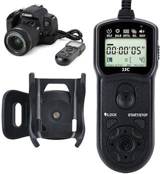 JJC temporizador mando con Control remoto liberación para Canon EOS R 90D...