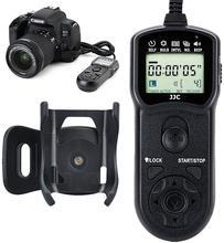 JJC zamanlayıcı uzaktan kumanda soketi Canon EOS R 90D 80D 77D 70D G3X G5X SX70 HS SX60 HS G10 G11 g12 olarak Canon RS 60E3