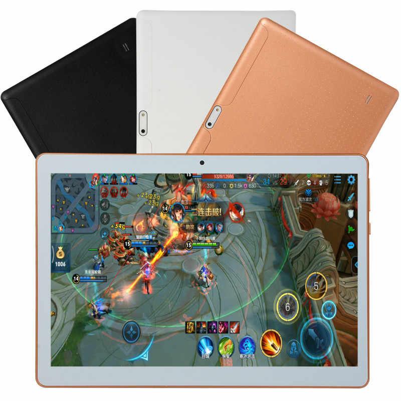 2020 Gratis Verzending 10 inch tablet pc Dual SIM 4G Telefoon Tablet WIFI Andriod 7.1 Tien Core 6G + 16G/64G/128G Telefoon Pad gift tablet