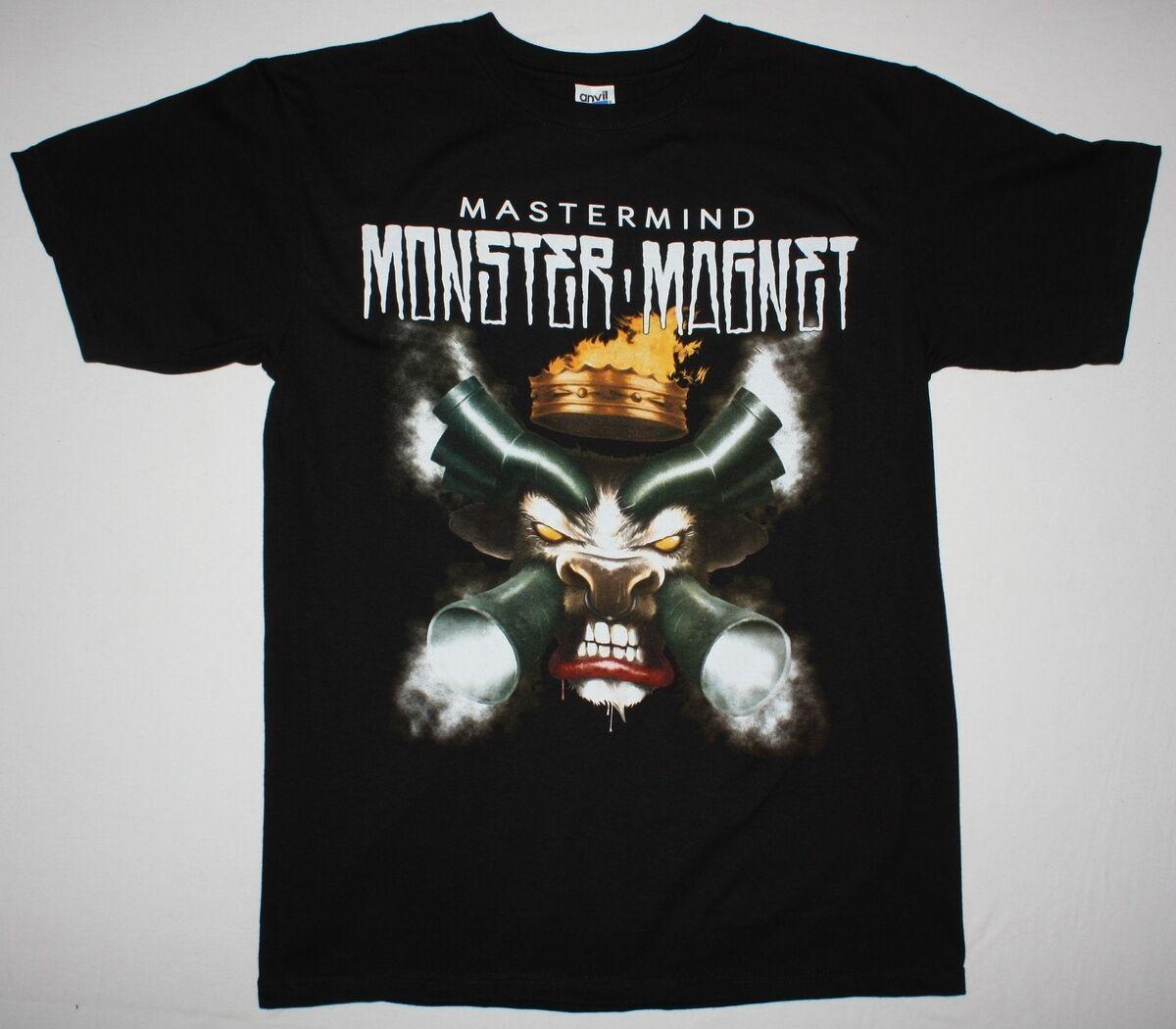 Monster Magnet Mastermind10 Stoner Rock Kyuss Orange Goblin New Black T Shirt