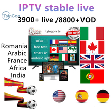 tyingon European live TV support Android tv box