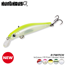 Hunthouse artist minnow sea fishing lure hard bait sinking 70mm 7g 80mm 8.5g silence for bass