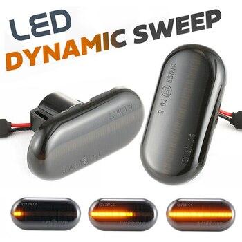 2Pcs LED Dynamic Side Marker Turn Signal Light for Opel Movano / Vivaro A Combi Dumptruck Kasten Pritsche Kipper Flatbed kipper