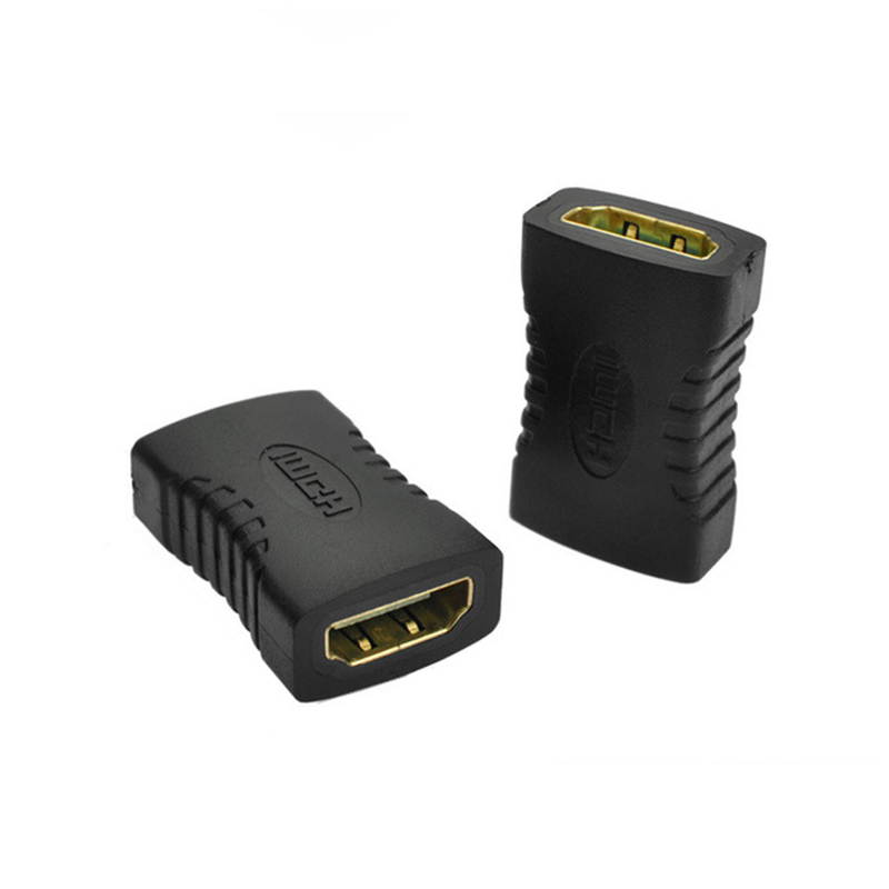 HDMI Female To HDMI Female Connector Extender HDMI Cable Extension Adapter Converter For PC DVD 1080P HDTV Wholesale