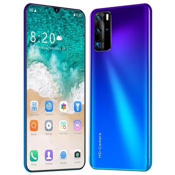 Global Version P41pro 7.5 Inch Smartphone 8GB RAM 256GB ROM 4800mAh Snapdragon 855 NFC Cellphone Android 9.1 Mobile Phone 4G LTE
