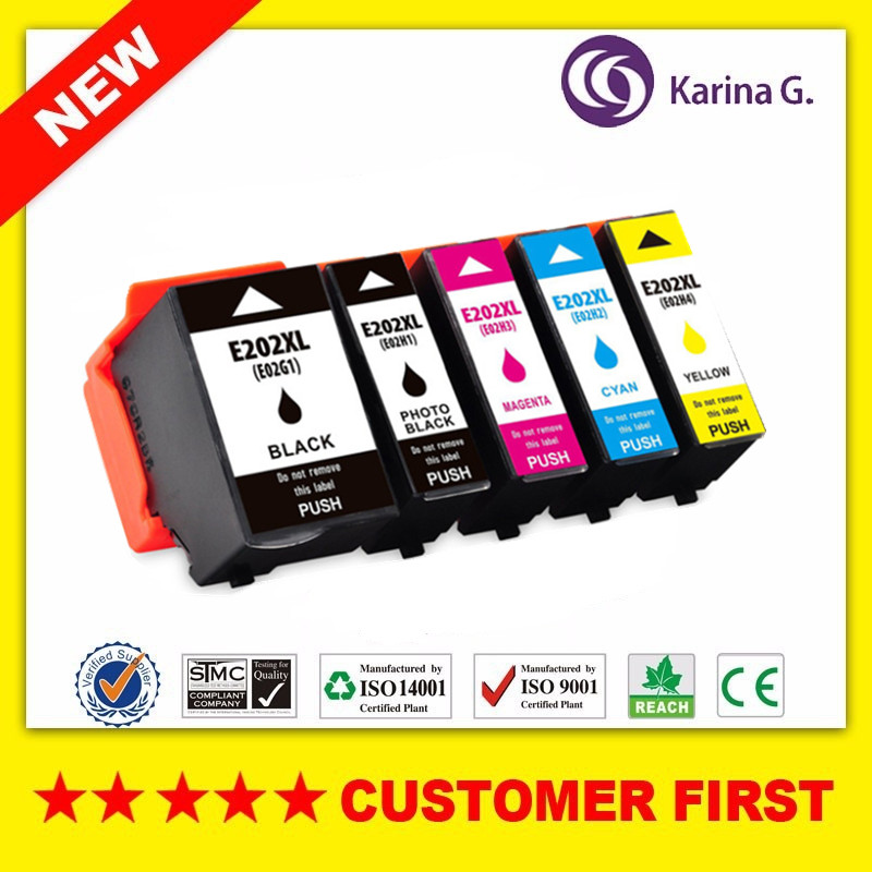 Compatible For Epson 202XL T202XL T202 Ink Cartridge Suit For Epson Expression Premium XP-6000 XP-6001 XP-6005 Etc.