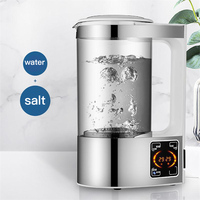 Original Hydrogen Water Bottle Alkaline Liquid Disinfection Electrolytic Generator Sodium Clean Air Spray Home Cleaning Tools