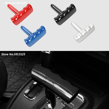 Car Gear Head Shift Knob Gear Shift Collars Handbrake Grip Car Hand Brake Covers For Jeep Compass 2011 2012 2013 2014 2015 2016 car floor mats for jeep compass 2011 2012 2013 2014 2015 2016 car styling carpet rugs liners