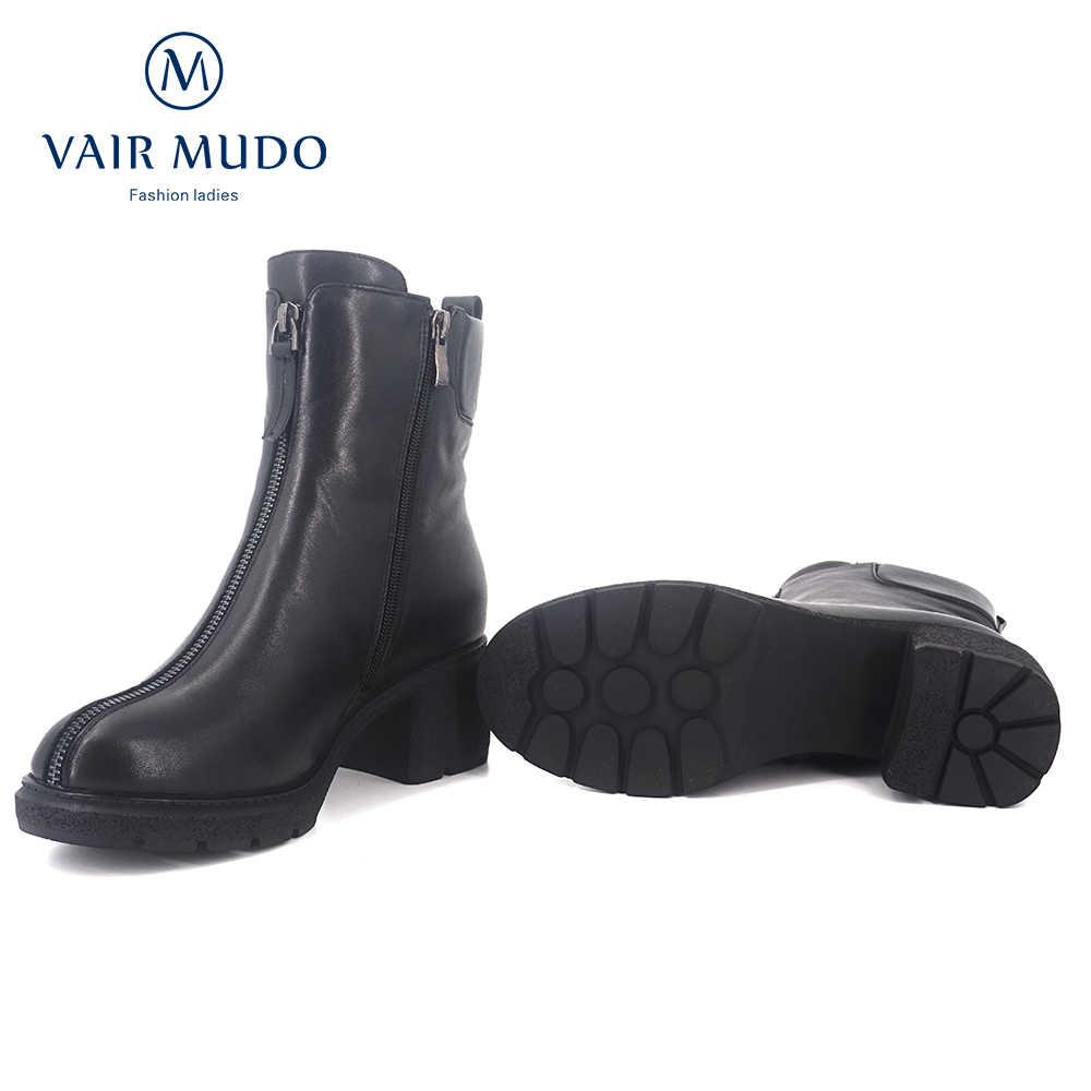 VAIR MUDO 2019 botas de Invierno para mujer botas de nieve de invierno de piel de alta calidad para mujer botas de nieve de invierno DX21