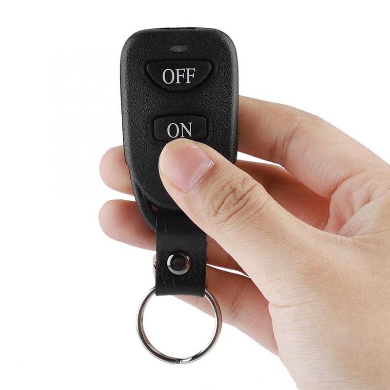 1x Wireless Garage Gate Door Code RF Remote Control Transmitter Switch Receiver