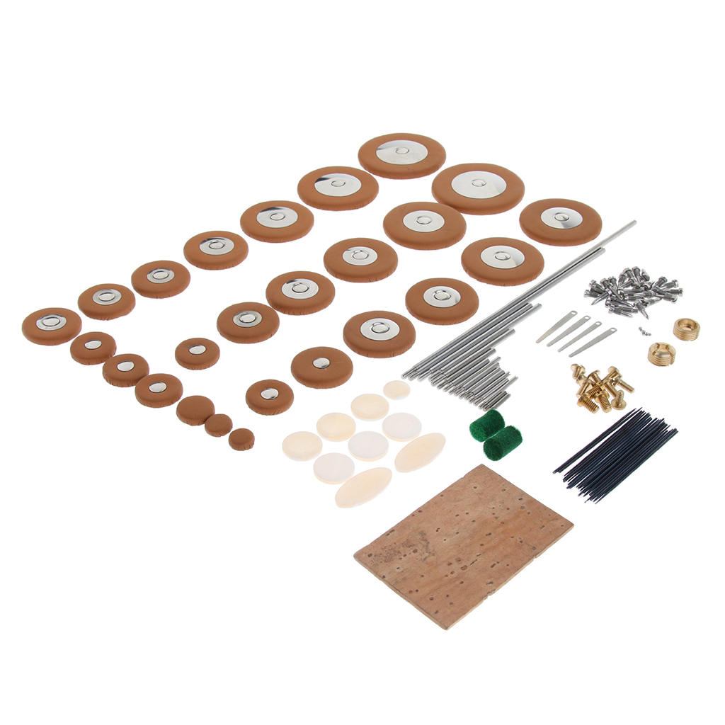 Alto Saxophone Repair Kits Saxophone Screws Reeds DIY Sax Replacement Parts Wind Instrument Accessory