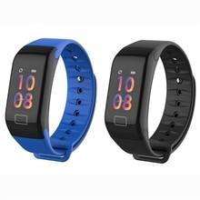 цена на F1 Plus Sports Smart Fitness Bracelet Health Monitor Heart Rate Blood Pressure Pedometer Waterproof Smart Watch Men Women Watch