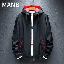 Однотонная куртка MANB W01