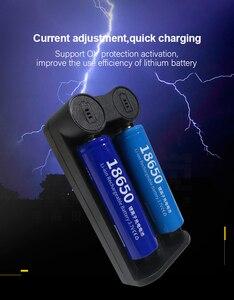 Image 5 - Voxlink 18650 Batterij Oplader Smart Opladen 2 Slot 3.7V 26650 18350 32650 21700 26500 Mh/Ni Cd oplaadbare Batterij Oplader