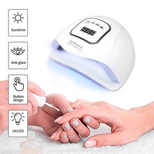 150W Sun X5 MAX Nail Gel Lamp Lamp LED Nail Dryer with LCD Display Nail DIY Manicure Tools UV for All Gel Varnish Ice Lamp