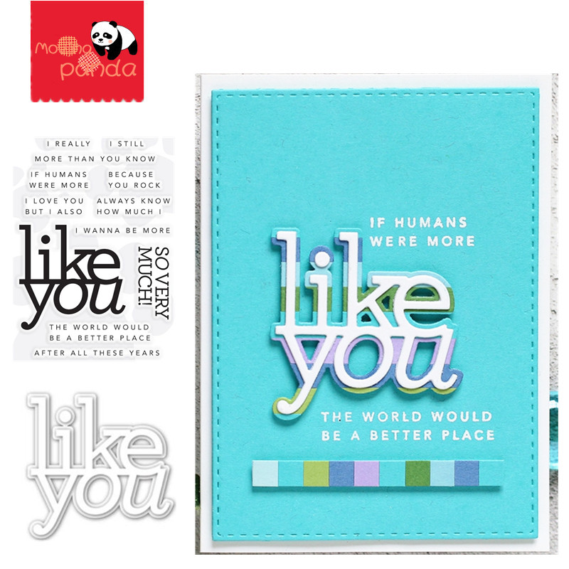 You are so loved Metal Cutting Dies and stamp For Scrapbooking