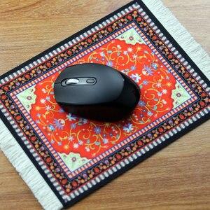 MRGBEST персидский мини тканый коврик для мыши Коврик для мыши Ретро Стиль Коврик для мыши с рисунком чашка коврик для мыши с Fring домашний офисн...