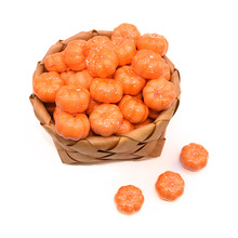 25/50pcs 3.5cm  Mini Realistic Artificial Pumpkins Foam DIY Craft Fake Small Home Halloween Decorative