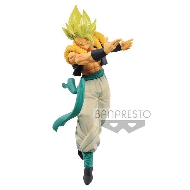 Tronzo Original Banpresto Dragon Ball Super MATCH MAKERS 03 Gogeta Super Saiyan Movie Broly SSJ PVC Action Figure Model Toys