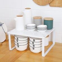Регулируемый домашний шкаф органайзер для хранения полка кухонного